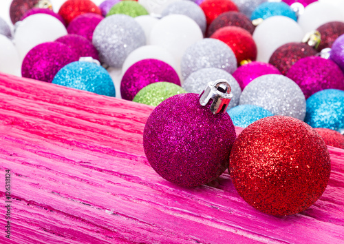 Bunte Christbaumkugeln Shop.Bunte Christbaumkugeln Buy This Stock Photo And Explore