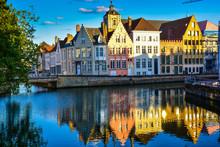 Maisons En Bordure De Canal - Bruges (Belgique)