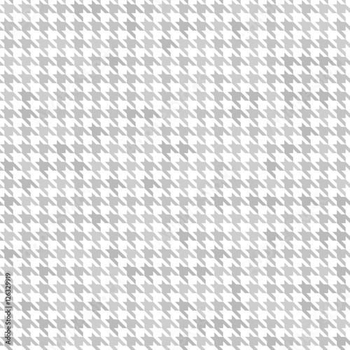 Houndstooth pattern. Seamless vector Wallpaper Mural