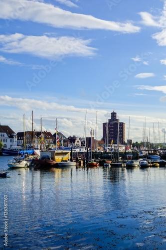 Foto auf AluDibond Port Yachthafen Eckernförde
