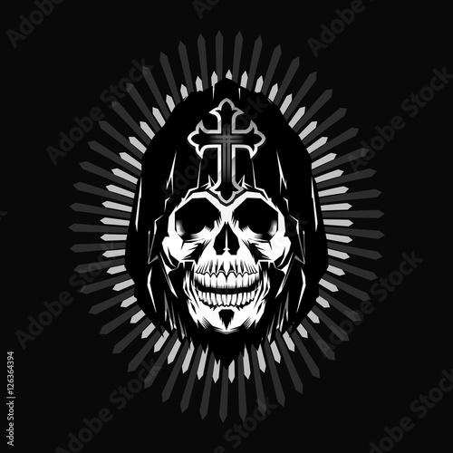 Photo  grim reaper head