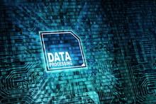 Internet  Data Processing Concept