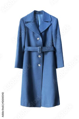 Fotografie, Tablou  Blue coat isolated