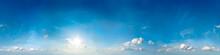 Seamless Sky Panorama. 360 Deg...
