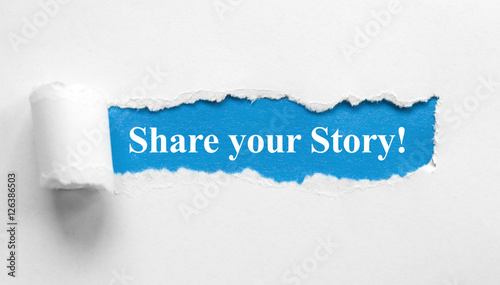 Fotografie, Tablou  Share your story