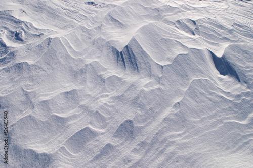 Valokuvatapetti snow drifts