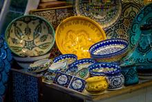 Ceramics, Gift Shop On Arab Ma...