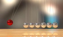 Balancing Ball Newton's Cradle...