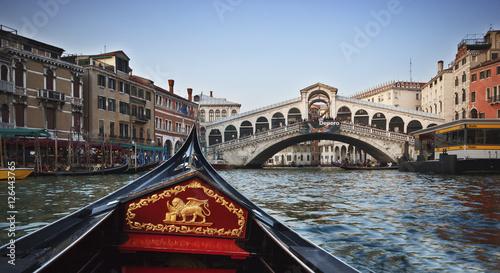 Türaufkleber Gondeln Venice