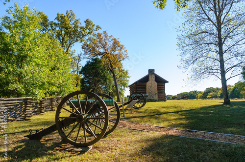 Canvastavla Chickamauga and Chattanooga National Military Park