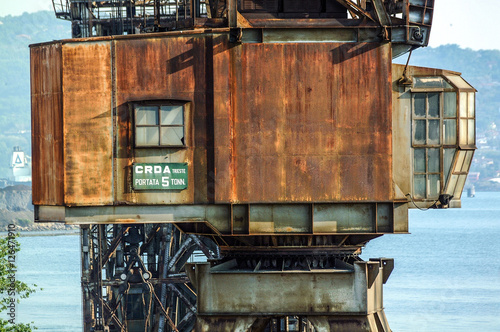Photo  Antica Gru per costruzioni navali