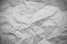 Grey Paper Crumpled  Background