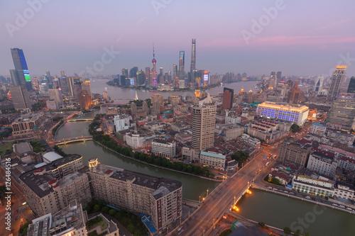 Photo  Shanghai urban architecture, skyline