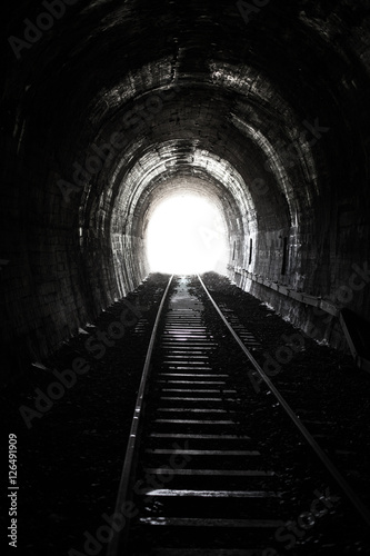 Bright Light and the End of an Old Railway Tunnel