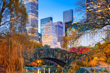 Fototapeta Nowy York Central Park Autumn