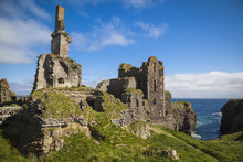 Ruinen Von Girnigoe Castle, Ca...