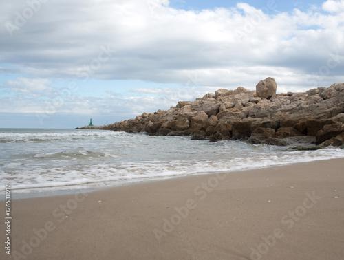 Fotografie, Obraz  Preciosa playa durante el día