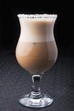 Fototapeta Kawa - glass of cappuccino