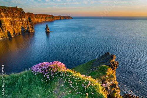 Fotografia Irish world famous tourist attraction in County Clare