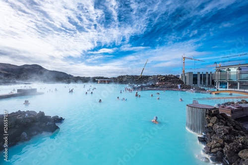Valokuva The Blue Lagoon geothermal spa is one of the most visited attractions in Iceland