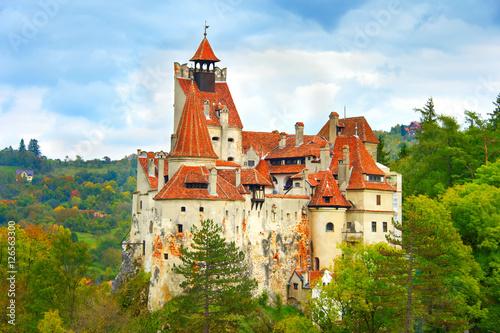 Deurstickers Kasteel Dracula castle, Romania