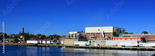 Fototapeta waterfront