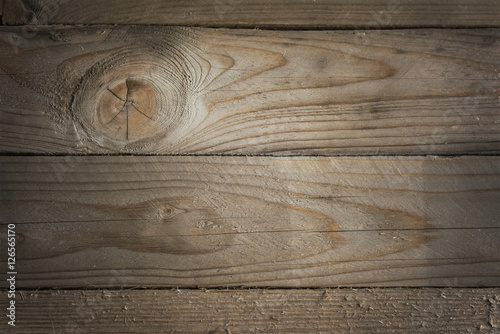 Tuinposter Hout Natural wood planks