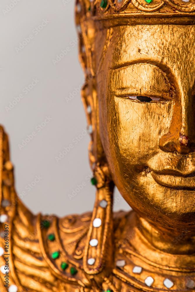 Fotografia, Obraz  Details from buddha statue