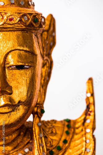 Obraz na plátne  Details from buddha statue
