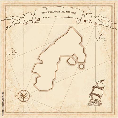 Water Island, U Poster
