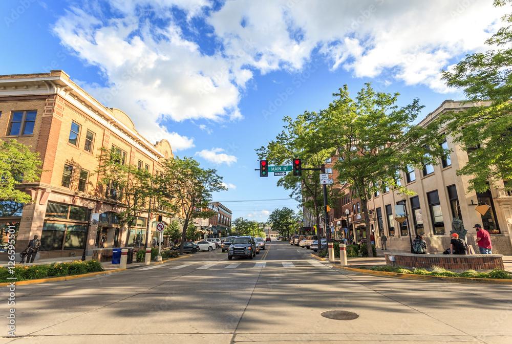 Fototapety, obrazy: Rapid City in South Dakota, USA