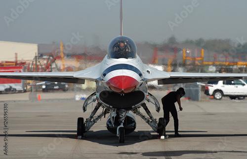 Fotografia, Obraz Ready to go-Thunderbirds