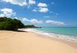 Happy Bay off coast of St Martin Caribbean