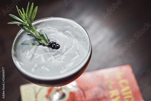 Photo  cocktail with garnish