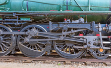 Green Locomotive Wheels