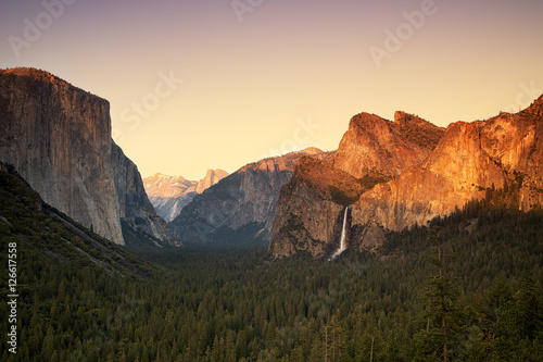 Papiers peints Morning Glory Yosemite Valley Sunset