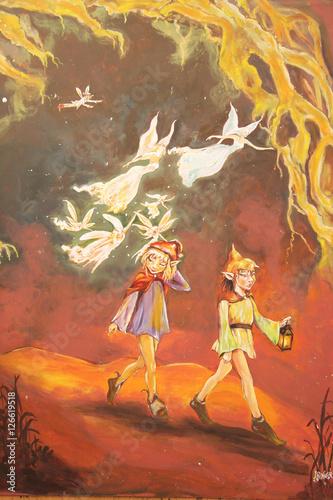 Foto op Plexiglas Feeën en elfen 天使