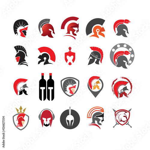 Photo  20 Best Collection Spartan Head