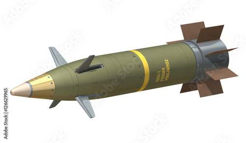 Photo GPS Guided Artillery Munition