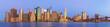 View to Manhattan from Brooklyn Bridge Park at night