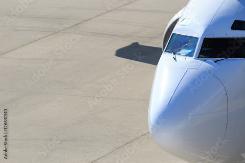 Fotomural Carlinga de un aeroplano