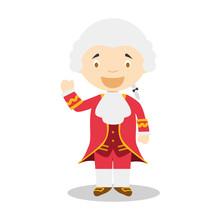 Wolfgang Amadeus Mozart Cartoo...