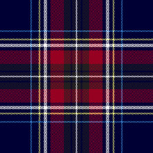 Blue Red Check Plaid Texture S...