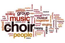 Choir Word Cloud