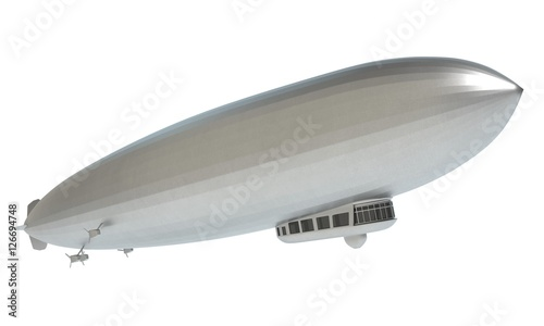 3d illustration of the Graf Zeppelin