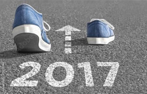 Der Weg ins Jahr 2017 Poster