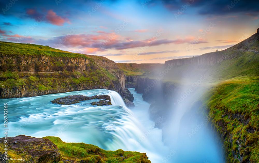Fototapety, obrazy: Gulfoss Falls, Iceland