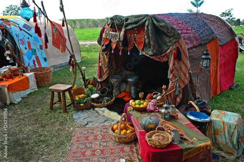 Gypsy Tent Wallpaper Mural