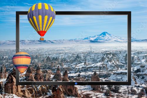 Staande foto Parijs Cappadocia
