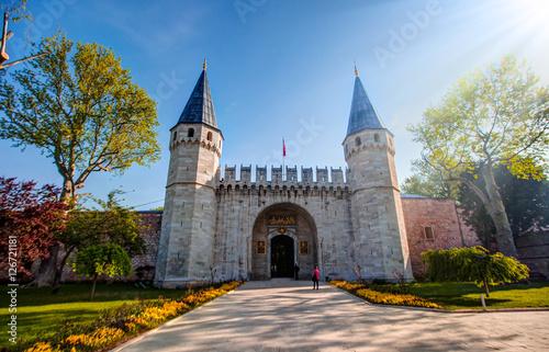 Leinwand Poster Topkapi Palace istanbul Turkey